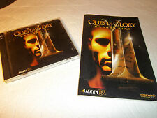 Quest for Glory V Dragon Fire rare pc game w/ manual.