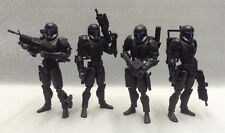 "Custom 1/18 Microman Clone Republic Commando Omega Squad Star wars 4"" Set"