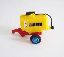 PLAYMOBIL (T4120) FERME - Remorque Citerne Jaune Tracteur Enfant 3066 Complète