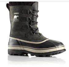New Sorel caribou boots gray mens size 9 made in Canada