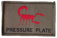 """Pressure Plate"" Morale Patch/Velcro Backed"