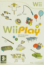 Wii PLAY (Nintendo Wii 2006 Game PAL) GRATIS UK P & P