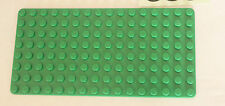 Lego Green Flat Base Plate Thin Building Board 8 x 16 Studs Road Island REF 558