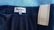 Girls Mika Vero Designer Italian Black Net Skirt/Cumberband Age12yrs RRP £98.99