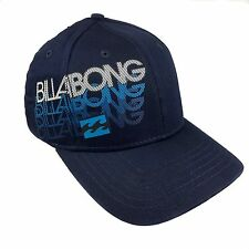 NWT Billabong Repeat Boy Cap Hat Curved Bill Flexible Fitted 100% Cotton