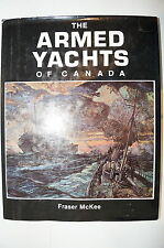 WW1 WW2 Canadian The Armed Yachts of Canada Reference Book