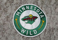 "Minnesota Wild Huge High Quality Embroidered Patch 11""x11"""
