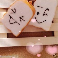 1PC mini cute bread bun sop pop charm for cellphone straps new KAWAII