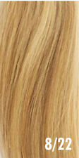 "Fits like a halo Hair Extension- Human Remy Flip On crown wire 20"" long"