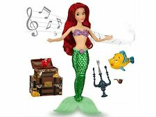 New Disney The Little Mermaid Deluxe Singing Ariel Doll With Accessori