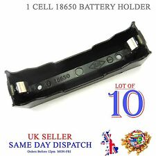 10x DIY 18650 Li-Po Cell Battery Plastic Holder 3.7V PCB Case 3.6V 4.2V Box