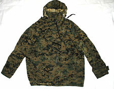 USMC GEN II APECS GORE-TEX COLD WEATHER MARPAT CAMO PARKA - MEDIUM REGULAR