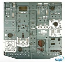 FLIGHT SIMULATOR BOEING 737 LOWER OVERHEAD PANELS REPLICA FULL FWD OVERHEAD SET