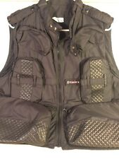 Tamrac Black Photographer Camera Travel Vest Black Camping Fishing Pockets Sz L