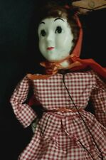 HAZELLE MARIONETTE LITTLE RED RIDING HOOD GIRL PUPPET MADE IN KANSAS CITY USA