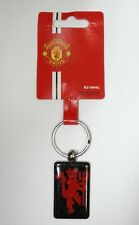 NEW Manchester United FC Official Metal Keyring keychain (KEY533)