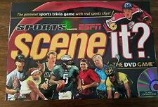 2005 Scene It? Sports Edition powered by ESPN Board Game 100% COMPLETE