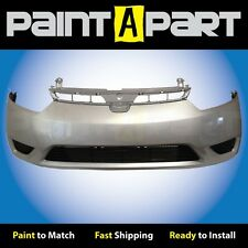 2006 2007 2008 Honda Civic Coupe Front Bumper Painted NH700M Alabaster Silver