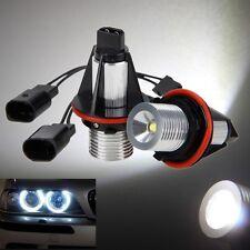 Pair 5W LED 6000K Standlicht Angel Eyes Marker Licht Für BMW 5er E39 E53 E65