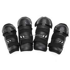 4Pcs Kit Adult Elbow Knee Shin Armor Guard Pads Protector for Bike Motorcycle GT