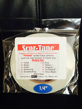 "2 Pack Value! Scor-Tape Adhesive 1/4"" x 27yd by Scor-Pal - Free Shipping*!"