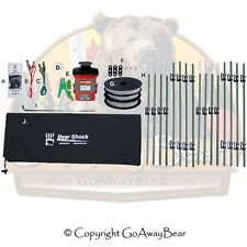 UDAP Bear Shock Camp Fence With Eight 4 ft Posts 45x45