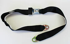 New! Mustang Falcon Comet Maverick Fairlane Cougar  Black seat Belt Each 60""