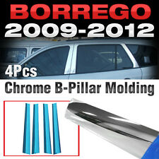 Chrome PVC B Pillar Garnish Molding Trim A578 For KIA 2009-2015 Borrego Mohave