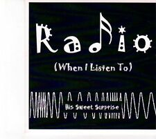 (DZ722) His Sweet Surprise, Radio (When I Listen To) - 2013 DJ CD