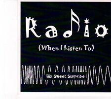 (DZ722) His Sweet Surprise, Radio (When I Listen To) - 2013 DJ CD