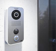 Doorbird Smart Video Türstation - weiß, D101, mit zusätzl. Edelstahl Frontblende