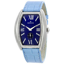 Milus Agenios Automatic Blue Dial Ladies Watch AGES01