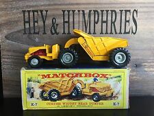 matchbox king size K 7A-1.Rare Version v.n.mint OVP good condition from 1961/62