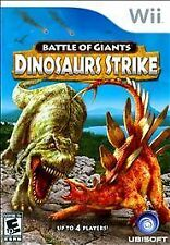 Nintendo Wii Game BATTLE OF GIANTS: DINOSAURS STRIKE - Disc Only