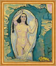 Venus in the Grotto Koloman Moser Mythologie Göttin Nackt Frauen B A3 02769