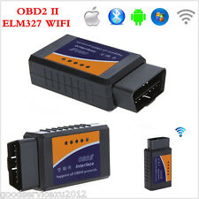 ELM327 WiFi Wireless OBD2 OBDII Car Autos Diagnostic Scanner Kit For iPhone iPad