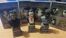 THE MONSTER LEGACY DVD COLLECTION ITALIA   14 DVD + 3 STATUE