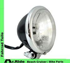 """Beach cruiser bicicleta LED lámpara"""" 2 LED Klein """"negro/cromo (3,2-36 voltios)"""""""" nuevo"""""""""""