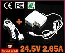 For Apple Mac Powerbook G4 65W AC power Adapter charger UK PLUG- first class