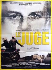 Affiche 120x160cm LE JUGE (1984) Jacques Perrin, Daniel Duval, Bohringer EC