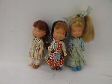 "SMALL JOB LOT OF RARE VINTAGE HOLLY HOBBIE DOLLS 6""  TALL CIRCA. 1975"