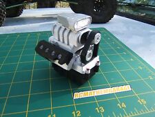 RCMG axial wraith,1/10 scale garage, V8 replacement stock reciver lid for wraith