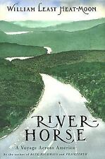 Least Heat Moon River Horse author Blue Highways Std 1st Ed Book HB 1999 boat