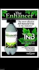TNB Naturals / CO2 Cannister con alto Output / PPM! WOW! 4 x Bottiglia di CO2