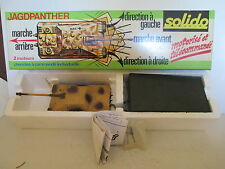 SOLIDO 229 COFFRET JAGDPANTHER TANK CHAR MOTORIZED MIB L@@K