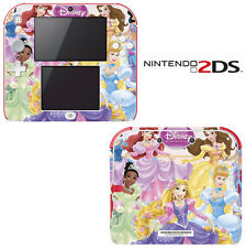 Vinyl Skin Decal Cover for Nintendo 2DS - Princess Friends Sparkle Belle Rapunze