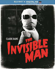 THE INVISIBLE MAN [INCLUDES DIGITAL COPY; ULTRAVIOLET] NEW BLU-RAY