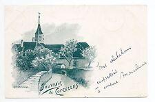 SUISSE SWITZERLAND Canton NEUFCHATEL CORCELLES Illustr. Courvoisier PUB WIDMANN