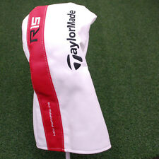 TaylorMade R15 Driver Headcover Leather - Red&White&Black Head Cover - NEW