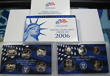 2006 S 10pc proof set blue box(#stk)